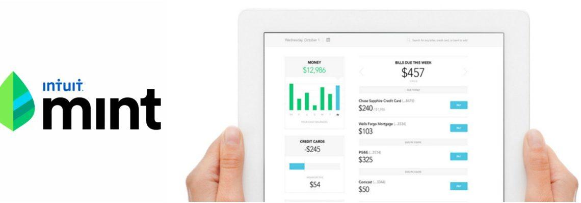 Mint app finance manager