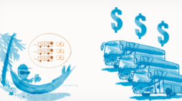 Bus travel save money